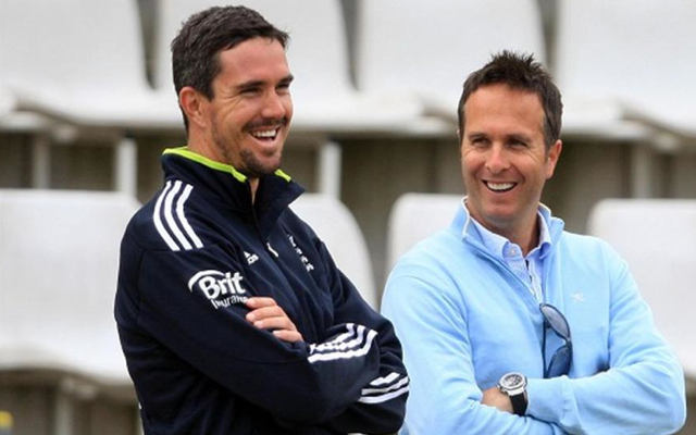 Kevin Pietersen throws support behind Michael Vaughan for England director role