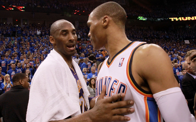 Russell Westbrook thanks Kobe Bryant for defending him from media criticism