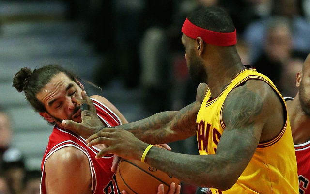 NBA news: LeBron James praises Joakim Noah ahead of playoff clash