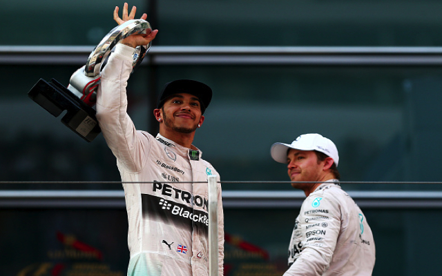 F1: Mercedes driver Lewis Hamilton talks up chances of third world title