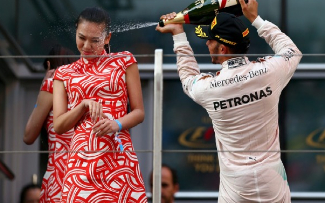 Lewis Hamilton: Mercedes star hammered on Twitter following Chinese GP champagne celebration