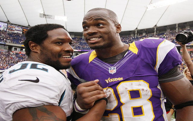 Jaguars head coach says team has no plans to trade for Adrian Peterson