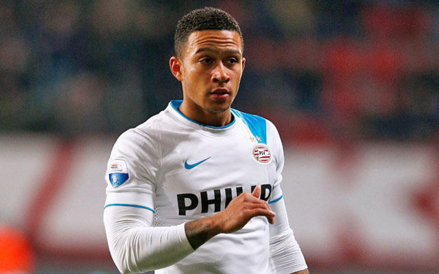 Memphis Depay aiming to follow former Manchester United hero