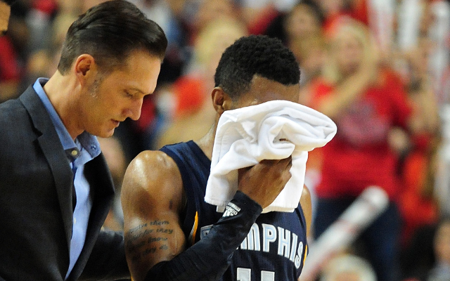 Memphis Grizzlies PG Mike Conley ruled out for Game 4 following eye injury