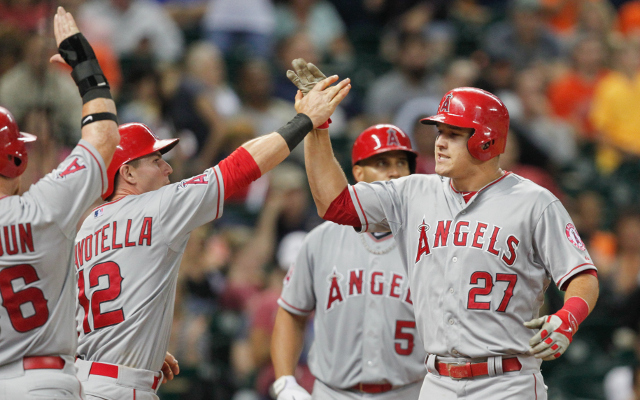 (Video) Los Angeles Angels star Mike Trout becomes youngest player to reach 100 home runs and 100 stolen bases