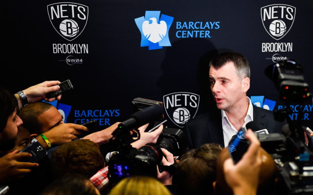 Mikhail Prokhorov insists he is committed to the Brooklyn Nets