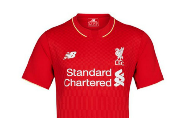 (Images) Liverpool unveil 2015/16 New Balance home kit