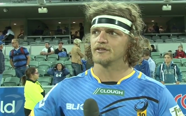(Video) Western Force star Nick 'Honey Badger' Cummins produces yet another hilarious interview