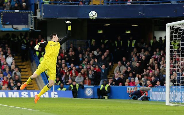 Thibaut Courtois' father pleads with Petr Cech to stay at Chelsea
