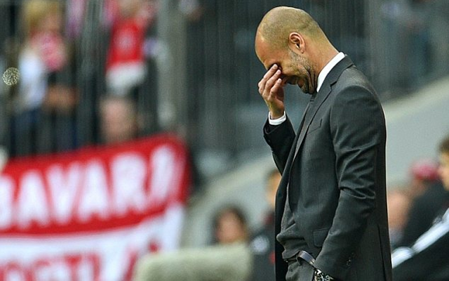 (Images) Pep Guardiola and Thomas Muller in massive bust up on Bayern bench