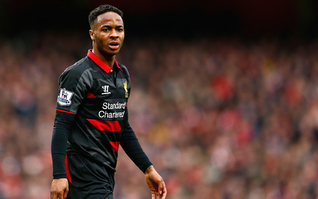 Raheem Sterling Liverpool v Arsenal