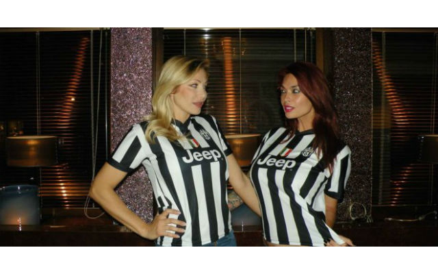 (Images) Porn stars Tera Patrick and Vittoria Risi promise to strip if Juventus win the Champions League
