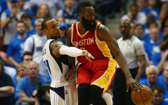 (Video) NBA Playoffs Highlights: Houston Rockets hold on for win against Dallas Mavericks in Game 3 as James Harden scores 42