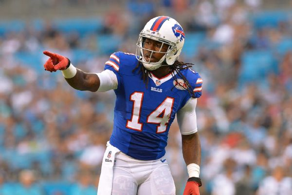"Buffalo Bills WR Sammy Watkins says struggling QB EJ Manuel is ""a totally different guy"""