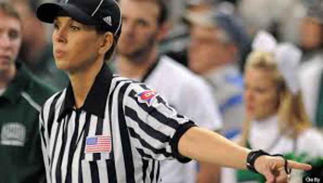 NFL hires Sarah Thomas as their first full-time female referee