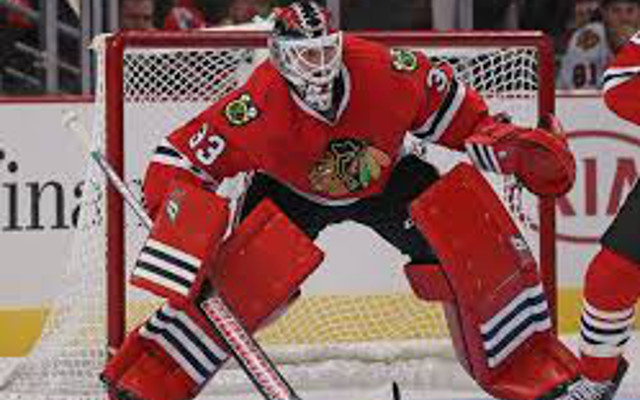 Chicago Blackhawks announce goalie Scott Darling will receive another start