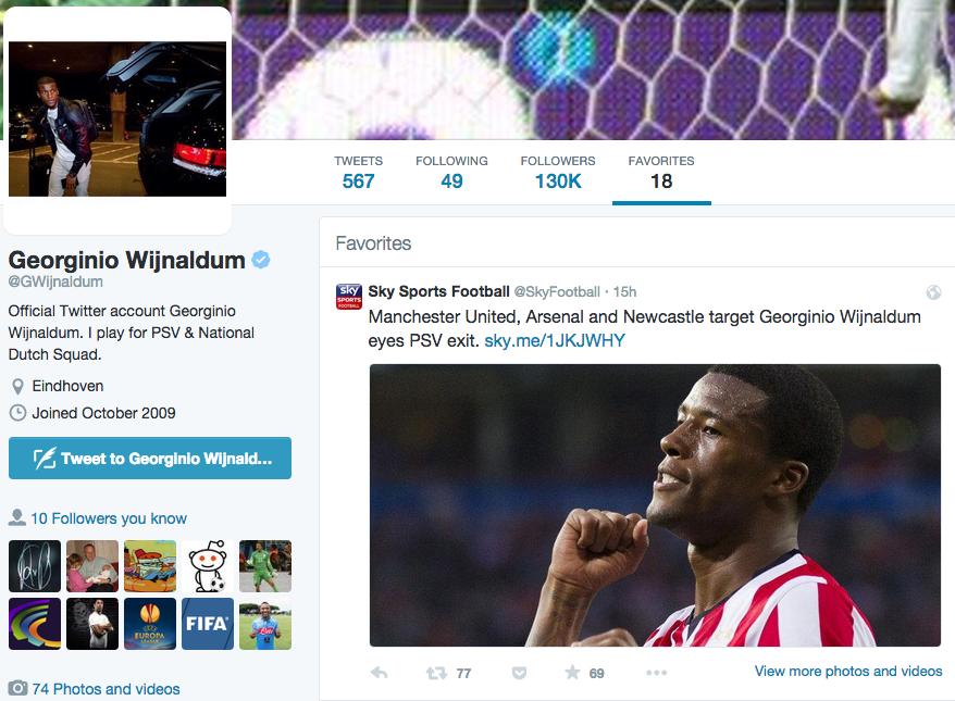 Sky Sports tweet
