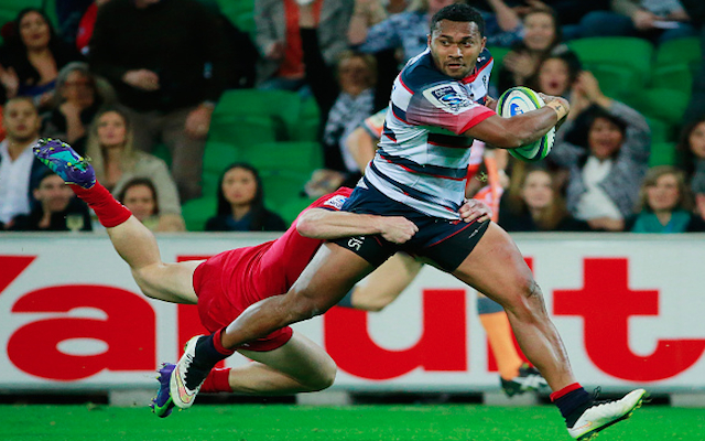 Super Rugby: Melbourne Rebels sign promising speedster ahead of clash with Chiefs