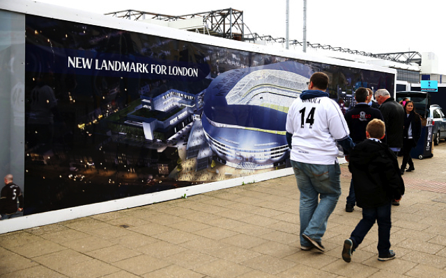 Tottenham confirm stadium plans & NFL ground-share: Spurs home to be bigger than Arsenal & Chelsea's
