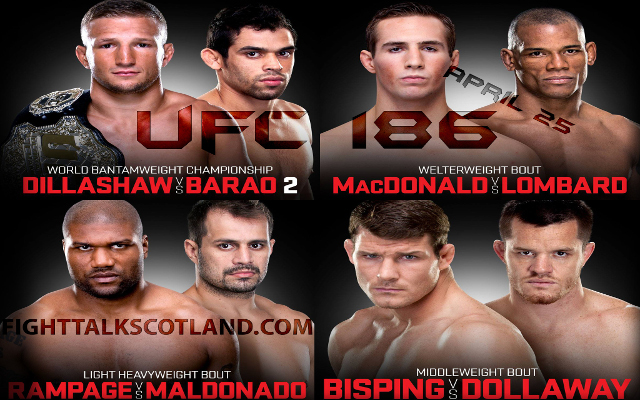 UFC 186: Ranking the five best matches that have been cancelled (so far)