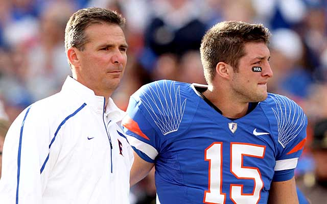 Urban Meyer says that Tim Tebow's media attention was a distraction for NFL execs