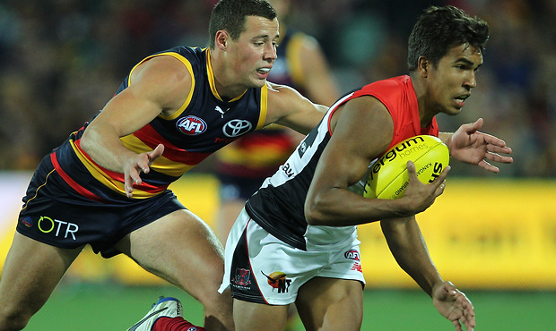 (Video) Adelaide Crows v Melbourne Demons highlights: Crows survive Dees scare in wet to win by four goals