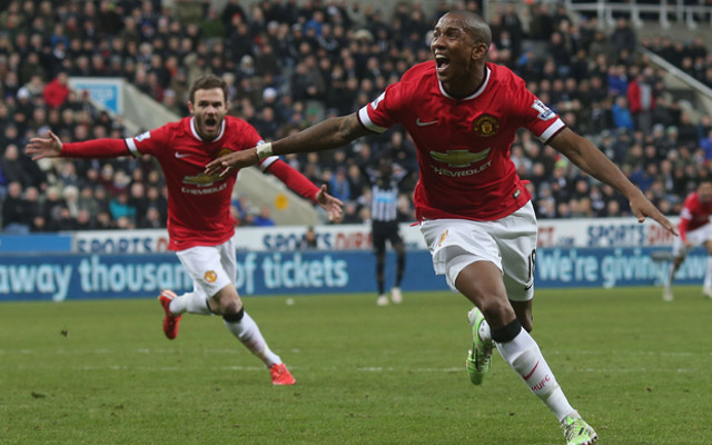 (Image) New Man Utd kit: Ashley Young poses in leaked photo of new shirt