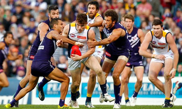 (Video) Fremantle Dockers v West Coast Eagles highlights: First-half demolition enough for Freo in comfortable Derby victory