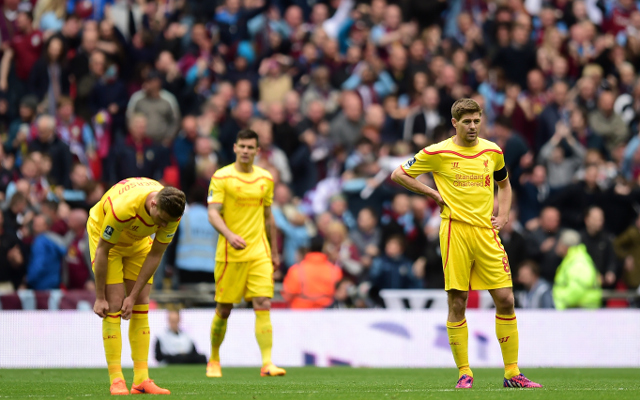 Liverpool player ratings from Aston Villa loss: Steven Gerrard's last FA Cup appearance tame, but Dejan Loven awful