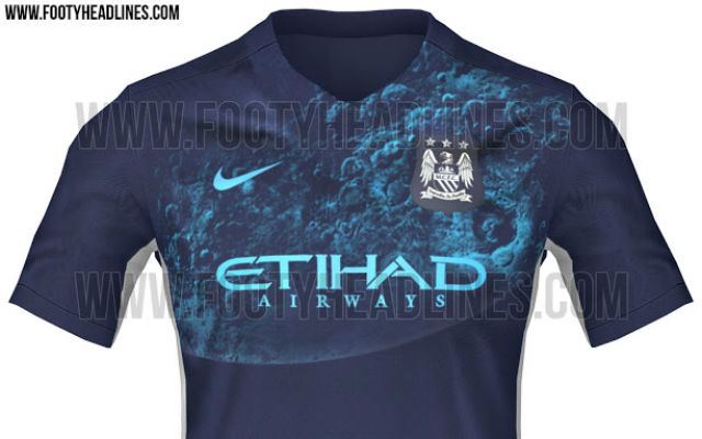 (Image) Manchester City 'Blue Moon' 2015/16 away shirt leaked