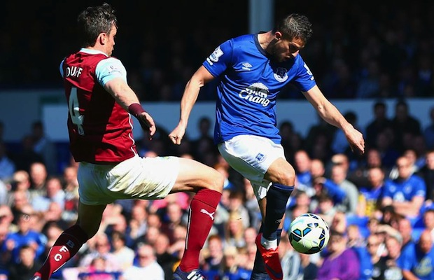 (Video) Everton 1-0 Burnley Premier League highlights: Mirallas nets winner against 10-man Burnley