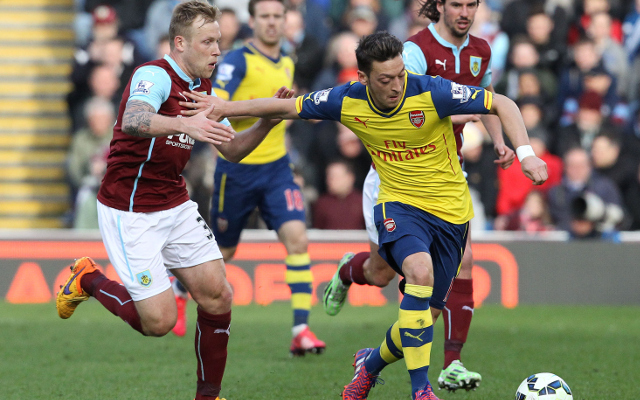 Arsenal player ratings vs Burnley: Ramsey strike sees Gunners shoot down Burnley
