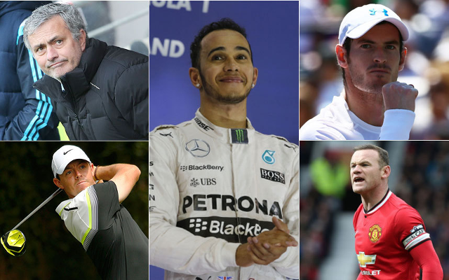 Sport rich list 2015: Lewis Hamilton ahead of Man United's Wayne Rooney & Chelsea boss