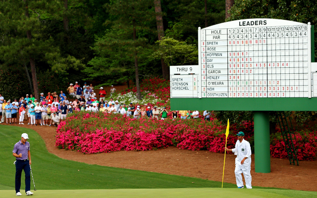 Twitter reacts to Jordan Spieth's record-breaking start to Augusta Masters