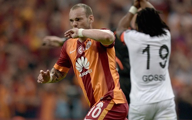 Wesley Sneijder dismisses Galatasaray match fixing allegations