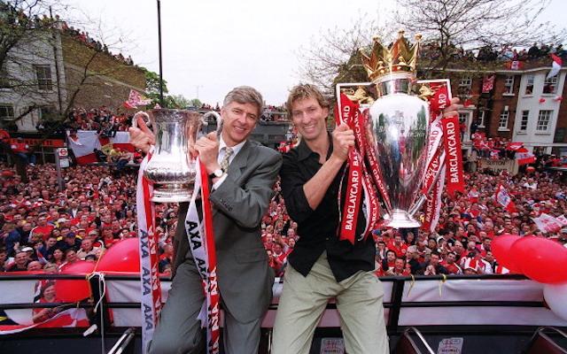 Arsene Wenger, Tony Adams, Arsenal