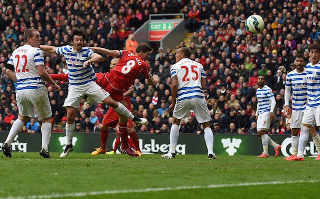 (Video) Steven Gerrard v QPR: Liverpool captain justifies legend status with gritty brilliance