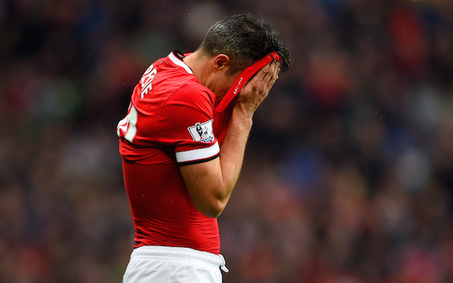 Robin van Persie holds crisis exit talks after Man United axe