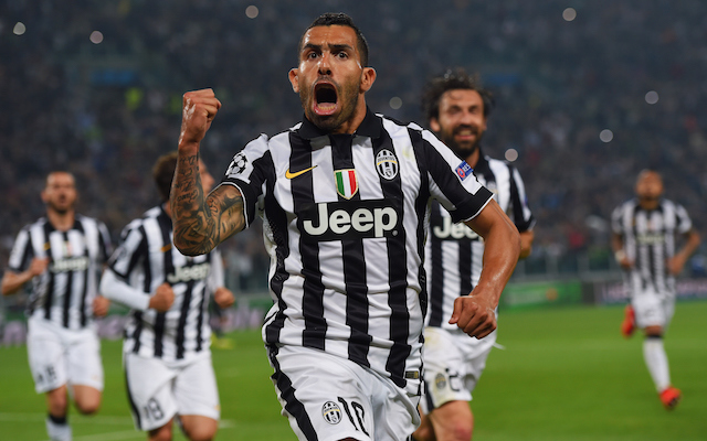 (Video) Juventus 2-1 Real Madrid Champions League highlights: Tevez inspires famous win in Turin