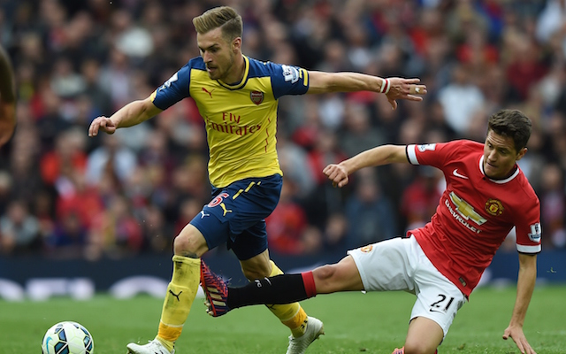 Arsenal star Aaron Ramsey ADMITS interest in overseas transfer amid talk of £50m bid