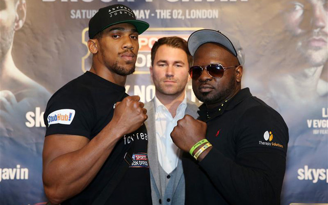 (Video) Anthony Joshua vs Kevin Johnson weigh-in: 'Kingpin' continues mind-games