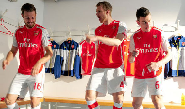 Arsenal stars become boy band in parody music video
