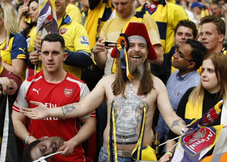 Arsenal's Bully embraces pirate tag by tagging his nips