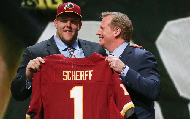 Brandon Scherff Washington Redskins