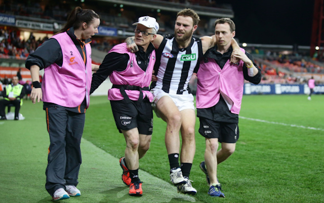 Collingwood midfielder Brent Macaffer to undergo more surgery following horror injury