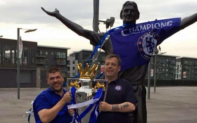 Chelsea fans troll Arsenal rivals by dressing up Tony Adams statue