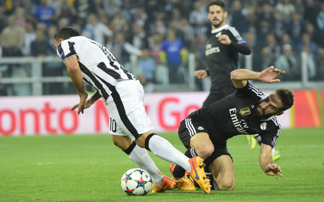 (Video) Juventus overcome Real Madrid though one refereeing decision may have narrowed Turin side's chances of progress to Champions League final