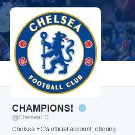 Chelsea twitter boast