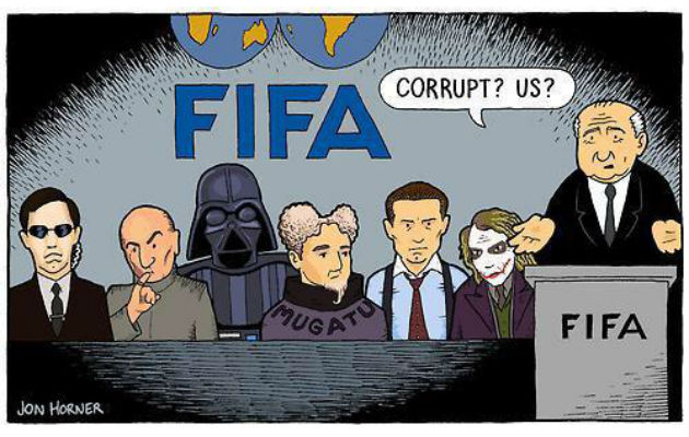 Twitter reacts to FIFA corruption charges