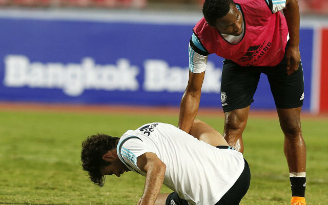 CRISIS! Diego Costa injured by his own teammate in Thailand training session